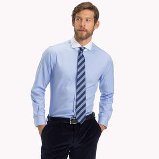 Tommy Hilfiger Classic Cotton Contrast Collar Dress Shirt