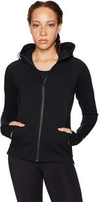 Core 10 Women's Motion Tech Fleece Fitted Full-Zip Hoodie Jacket