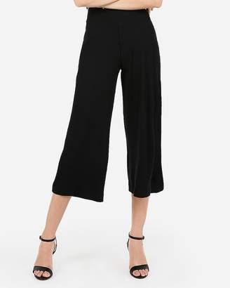 Express High Waisted Cropped Wide Leg Pant