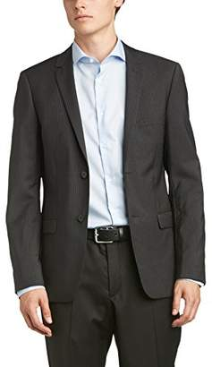Esprit Men's 994EO2G914 Long Sleeve Suit Jacket,(Manufacturer Size:52)