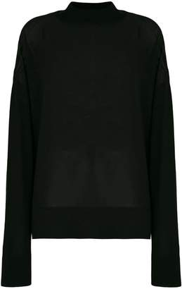 Versace sheer jumper