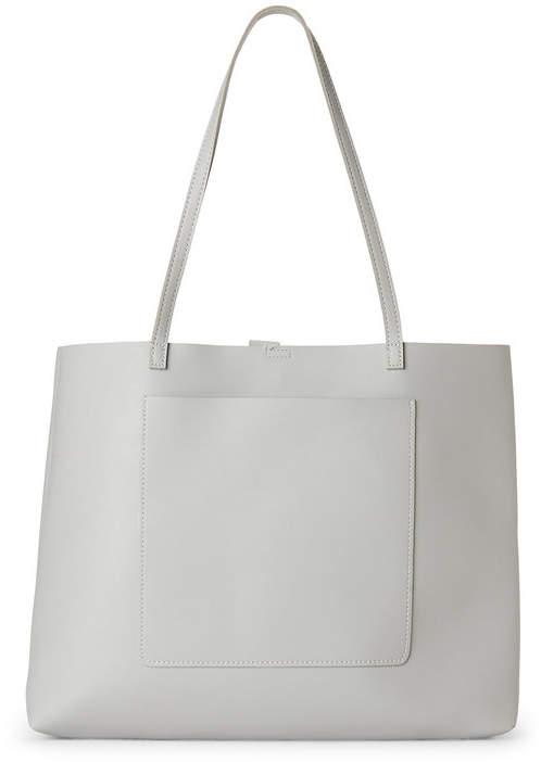 street level Grey Exterior-Pocket Bag-in-Bag Tote