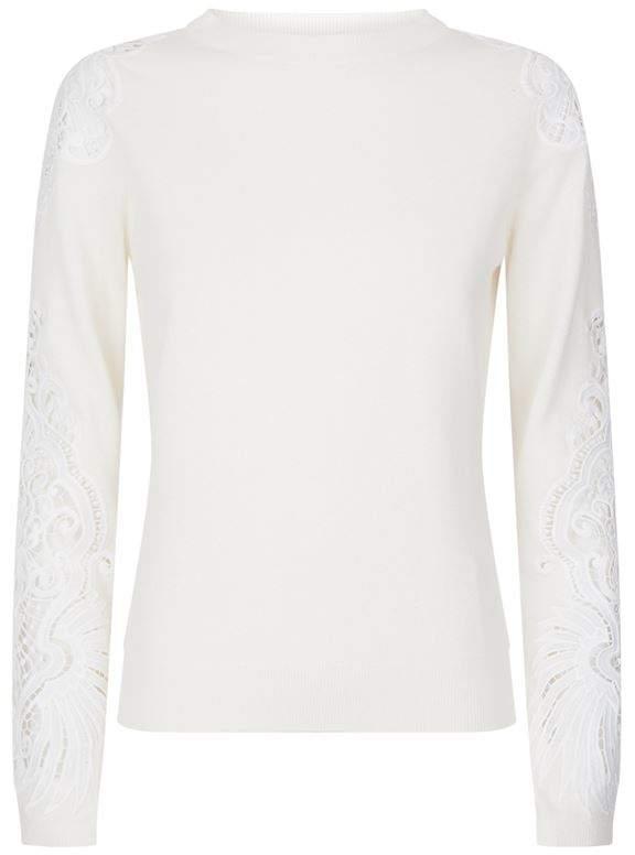 Shelsin Lace Detail Sweater