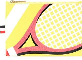 Thom Browne racket print card holder