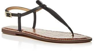 Sam Edelman Women's Gigi Leather Thong Sandals