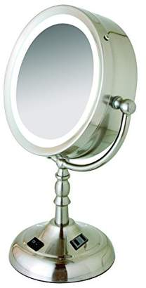 Floxite 8x/1x Daylight Lighting Cosmetic Mirror