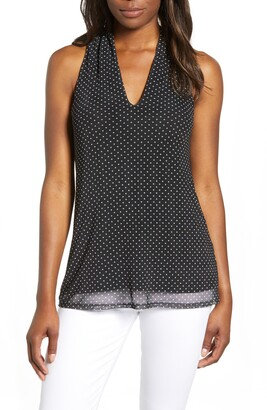 Loveappella Mesh Tank Top