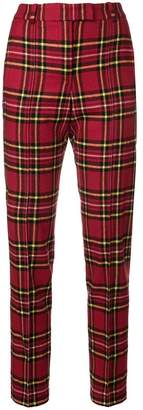 Ermanno Scervino tartan fitted trousers