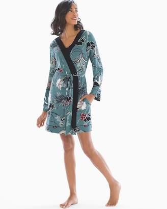Cool Nights Long Sleeve Short Robe
