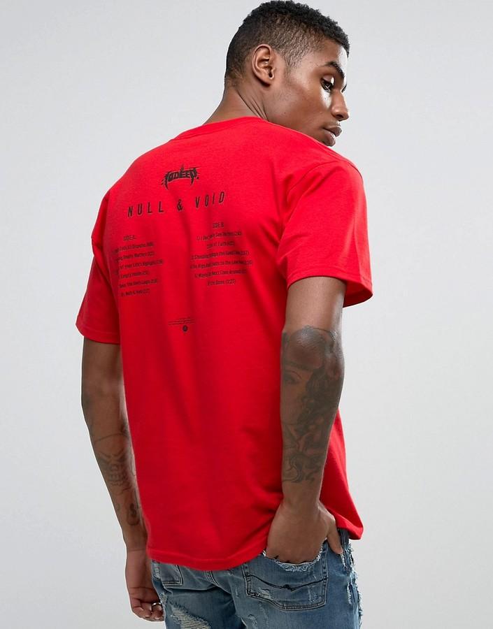 10.Deep10 Deep T-Shirt With Album Back Print
