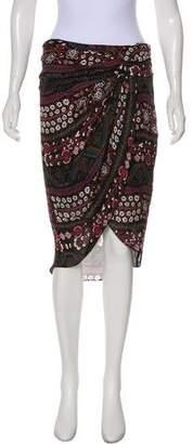 Veronica Beard Silk Knee-Length Skirt w/ Tags