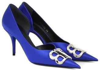 d3d43dbc1c8 Balenciaga Blue Pumps - ShopStyle