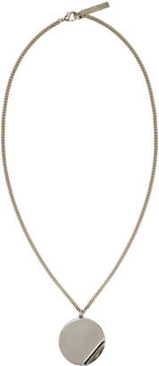 Givenchy Gold G-Ometric Round Chain Pendant Necklace