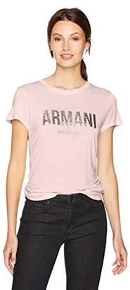 Armani Exchange A X Women's Crewneck Logo T-Shirt