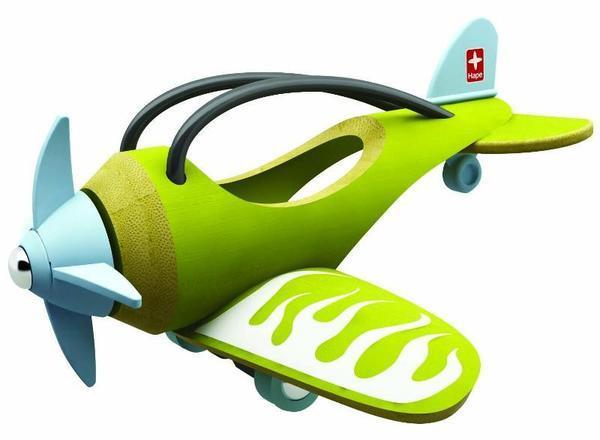 E-Plane Green Bamboo Airplane