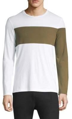 Helmut Lang Banded Logo Long-Sleeve Shirt