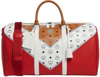 MCM Traveler Monogram Weekender Bag
