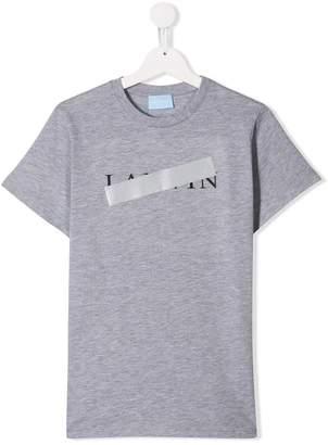 Lanvin Enfant blocked logo print T-shirt