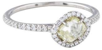 Diamond in the Rough 1.28ct Rough Diamond Classic Engagement Ring