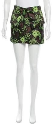 Kenzo Jacquard Mini Skirt w/ Tags