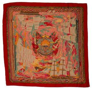 Hermes Henry F Smith Sailor Twill Scarf