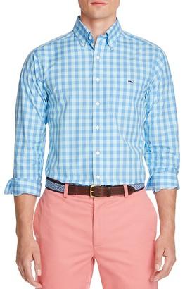 Vineyard Vines Gingham Tucker Regular Fit Button-Down Shirt $98.50 thestylecure.com