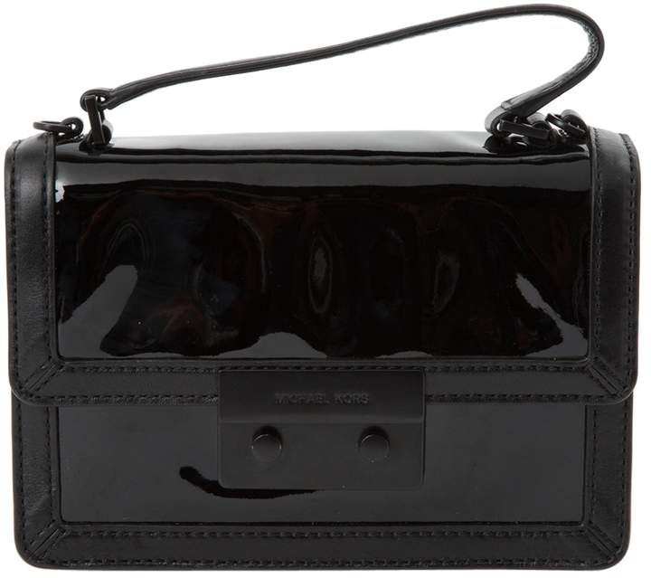 Michael Kors Patent leather clutch bag - BLACK - STYLE