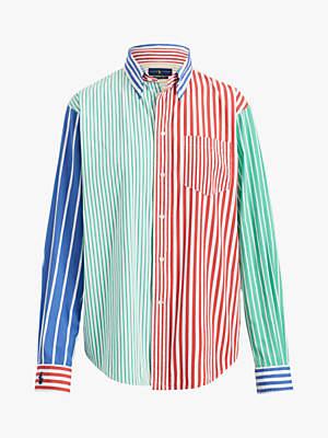 d8b7c108c Ralph Lauren Polo Long Sleeve Multi Stripe Shirt