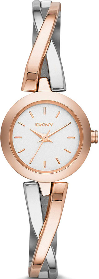 DKNYDKNY NY2172 Crosswalk two-tone stainless steel watch
