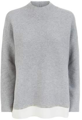 Fabiana Filippi Contrast Trim Sweater