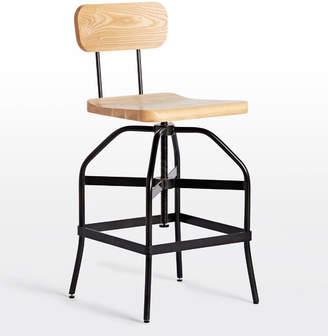 Rejuvenation Malone Adjustable Chair Stool