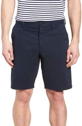 French Connection Machine Gun Stretch Cotton Shorts