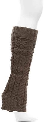 Lemon Weekend Cable Knit Leg Warmers - Women's