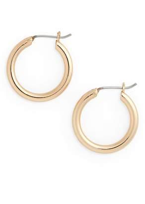 Halogen Small Endless Hoop Earrings