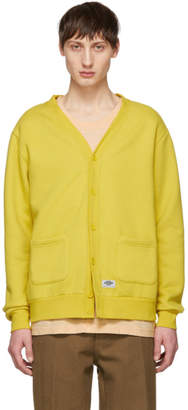 Dickies Construct Yellow Fleece Cardigan