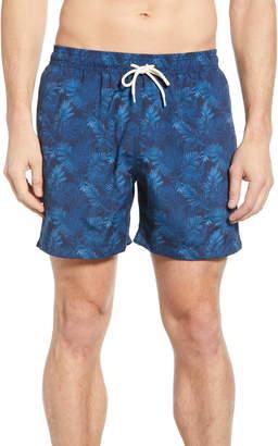 Barbour Tropical Print Swim Trunks