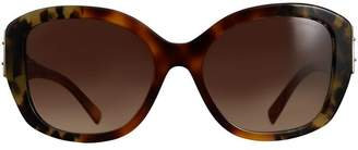 Burberry Buckle Detail Oversize Square Frame Sunglasses