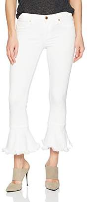 Blank NYC [BLANKNYC]]] Women's Ruffle Hem Skinny Pants