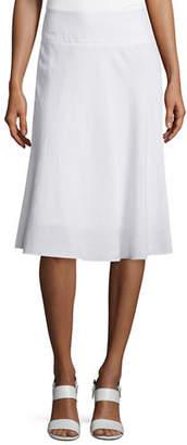 Nic+Zoe Summer Fling Linen-Blend Skirt, Petite