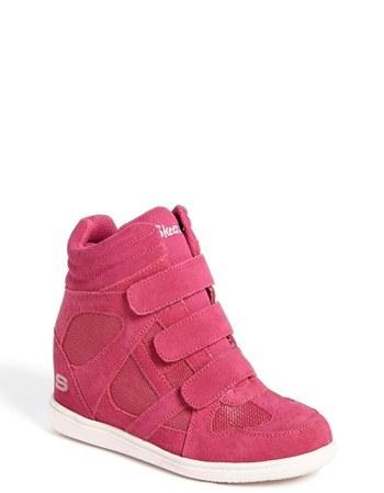 Skechers 'Double Trouble' Wedge Sneaker (Toddler, Little Kid & Big Kid)