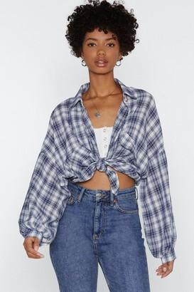 Nasty Gal Lumberjack Chic Check Shirt