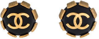 Chanel Chanel CC Clip-On Earrings