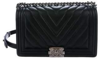 Chanel 2016 Chevron Medium Plus Boy Bag