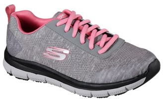Skechers Women's Relaxed Fit Comfort Flex Pro Health Care Slip Resistant Work Shoes