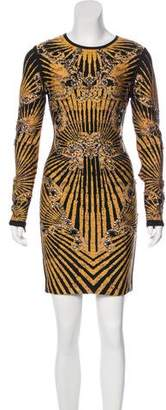 Herve Leger Giana Studded Dress
