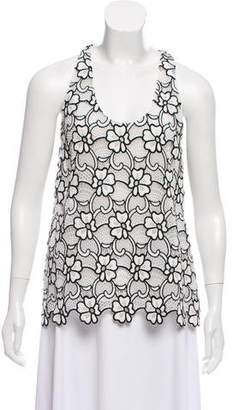 Ungaro Sleeveless Floral Top w/ Tags