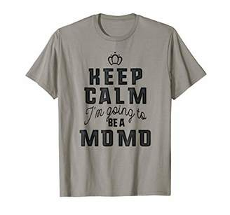 DAY Birger et Mikkelsen Family Mother's Keep Calm I'm Going To Be A Momo T-shirt