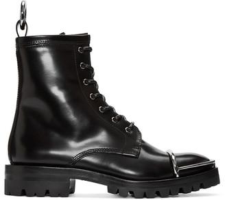 Alexander Wang Black Lyndon Boots $750 thestylecure.com