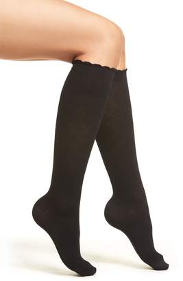Nordstrom Diamond Compression Knee High Socks
