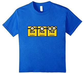 Yellow Banana Periodic Table T-Shirt